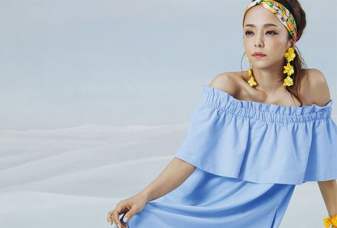 Shoulder, Blue, White, Clothing, Beauty, Joint, Skin, Arm, Dress, Yellow,