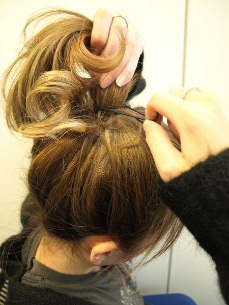 Human, Finger, Hairstyle, Style, Long hair, Hair accessory, Wrist, Brown hair, Nail, Liver,