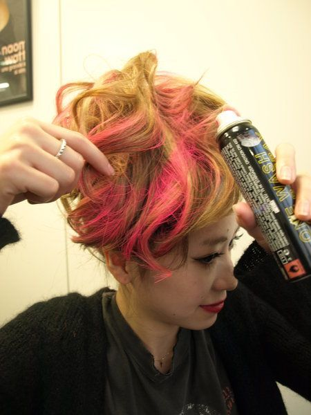 Hairstyle, Style, Cool, Magenta, Hair coloring, Hair care, Red hair, Artificial hair integrations, Long hair, Blond,