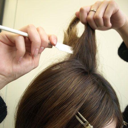 Hair, Head, Finger, Hairstyle, Forehead, Eyebrow, Eyelash, Style, Hair accessory, Long hair,