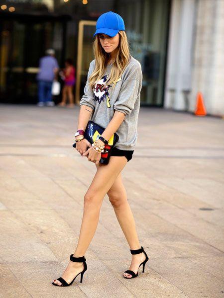 Cap, Leg, Sleeve, Human leg, Shoulder, Shirt, Joint, Outerwear, Street fashion, Style,