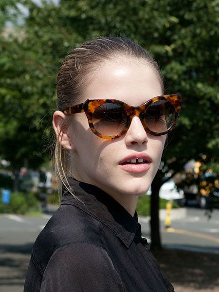 Clothing, Eyewear, Glasses, Vision care, Lip, Hairstyle, Sunglasses, Goggles, Outerwear, Style,