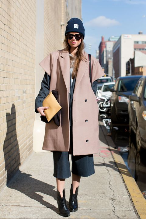 Clothing, Sleeve, Coat, Collar, Cap, Textile, Outerwear, Style, Street fashion, Jacket,