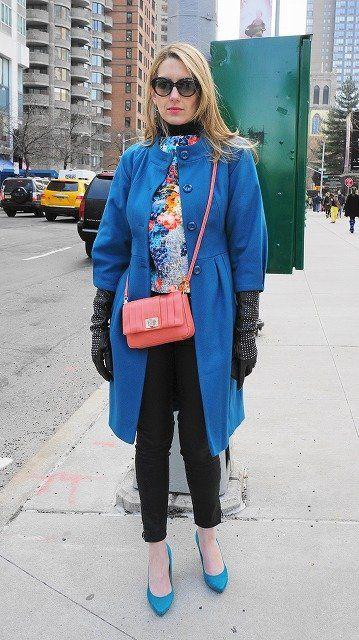 Clothing, Eyewear, Blue, Winter, Textile, Sunglasses, Outerwear, Bag, Coat, Style,