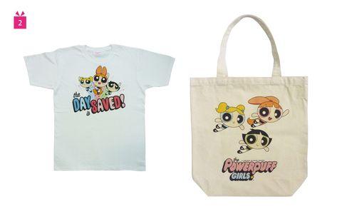 Product, Tote bag, T-shirt, Cartoon, Bag, Handbag, Font, Fashion accessory, Sleeve, Top,