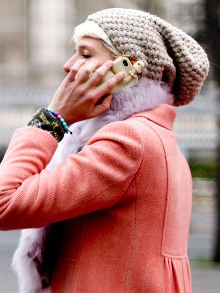 Textile, Winter, Fashion accessory, Headgear, Wrist, Street fashion, Knit cap, Beanie, Wool, Bracelet,