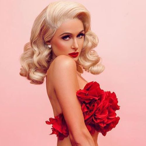 Hair, Blond, Red, Beauty, Lip, Hairstyle, Pink, Photo shoot, Model, Dress,