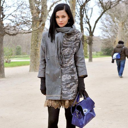 Clothing, Brown, Sleeve, Textile, Bag, Joint, Outerwear, Style, Street fashion, Fashion accessory,