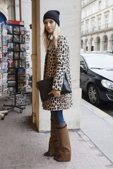 Clothing, Brown, Sleeve, Textile, Outerwear, Boot, Cap, Fashion accessory, Bag, Street fashion,