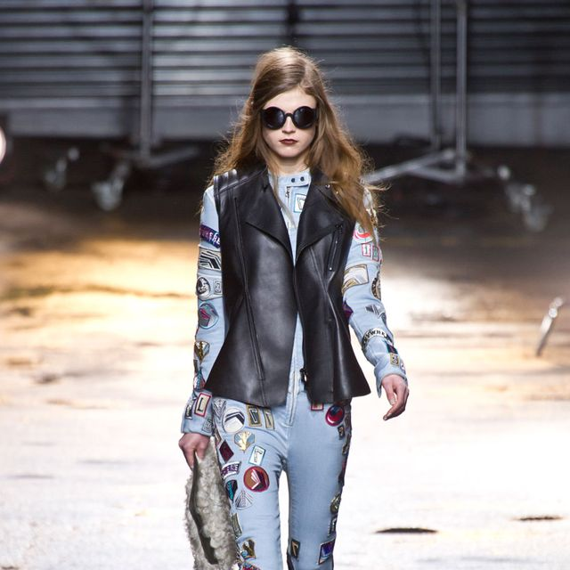 Clothing, Eyewear, Brown, Textile, Outerwear, Sunglasses, Fashion accessory, Style, Street fashion, Boot,