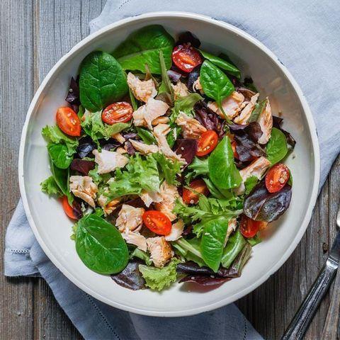 Food, Salad, Cuisine, Produce, Ingredient, Vegetable, Leaf vegetable, Tableware, Dishware, Recipe,