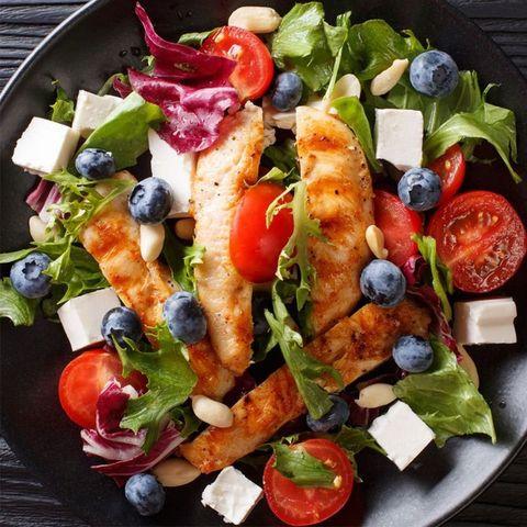 Food, Salad, Cuisine, Tableware, Vegetable, Produce, Garden salad, Fruit, Vegan nutrition, Dish,