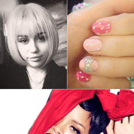 Finger, Lip, Hairstyle, Skin, Eyebrow, Nail, Eyelash, Red, Fashion accessory, Pink,