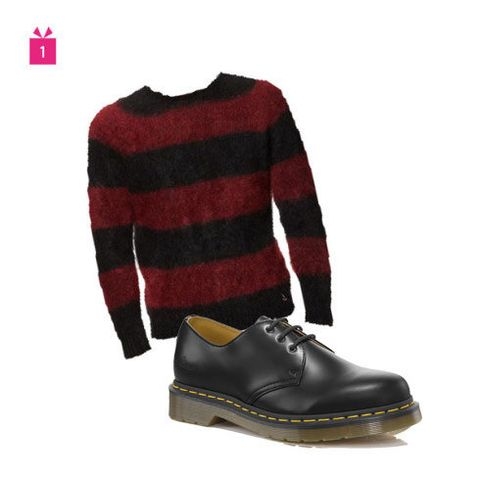 Product, Sweater, Brown, Sleeve, Textile, Coat, Outerwear, Pattern, Maroon, Fashion,