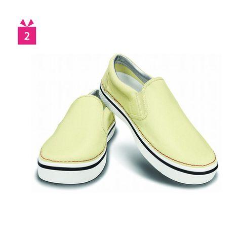 Footwear, Product, Yellow, Tan, Fashion, Beige, Ballet flat, Fashion design, Brand,