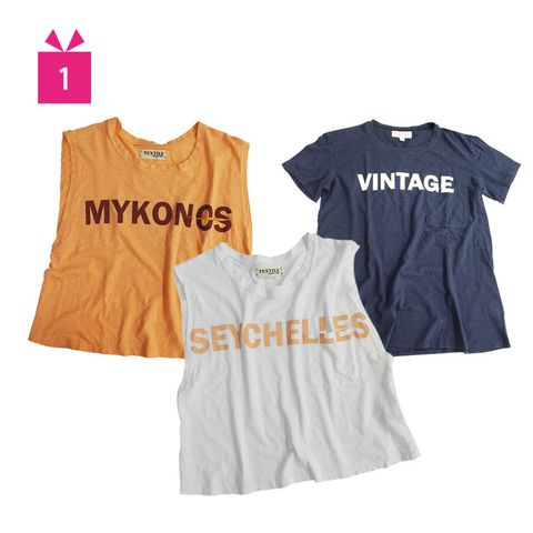 Clothing, Product, Blue, Yellow, Sleeve, Sportswear, Text, White, T-shirt, Sleeveless shirt,