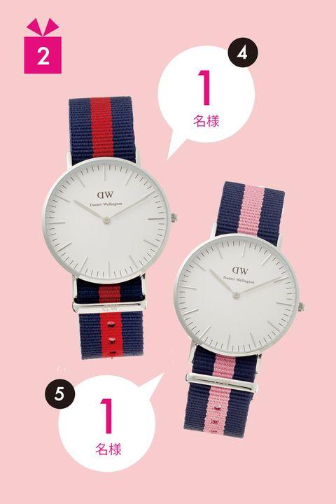 Red, Pink, Font, Carmine, Analog watch, Watch, Magenta, Circle, Maroon, Design,