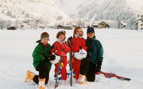 Snow, People, Winter, Playing in the snow, Recreation, Ice, Footwear, Snowshoe, Vacation, Geological phenomenon,