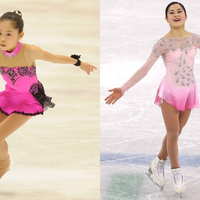 Figure skate, Ice skating, Figure skating, Ice skate, Skating, Clothing, Recreation, Sportswear, Ice dancing, Footwear,