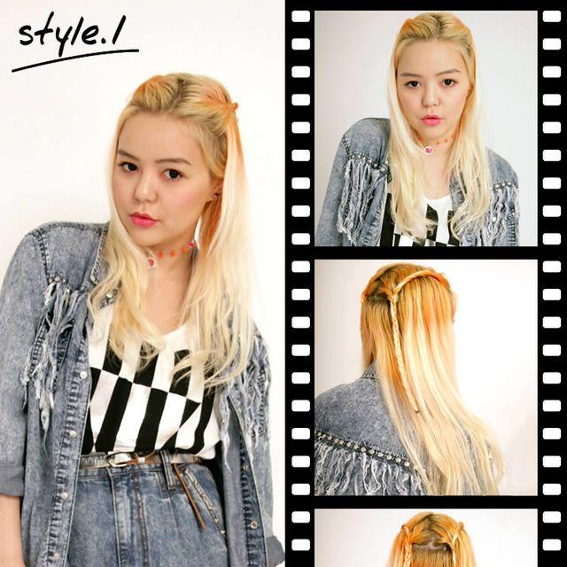 Clothing, Hairstyle, Sleeve, Eyebrow, Denim, Photograph, Style, Beauty, Eyelash, Long hair,