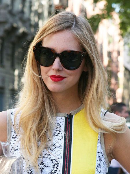 Clothing, Eyewear, Glasses, Vision care, Lip, Hairstyle, Sunglasses, Outerwear, Style, Street fashion,