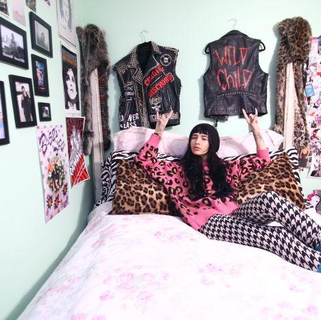 Room, Textile, Bed, Pink, Bedroom, Purple, Linens, Bedding, Bed sheet, Picture frame,