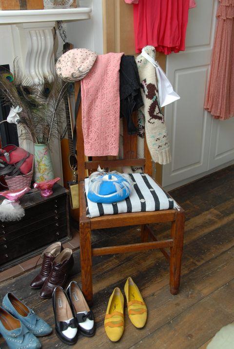 Room, Collection, Tan, Curtain, Retail, Shelving, Window treatment, Walking shoe,