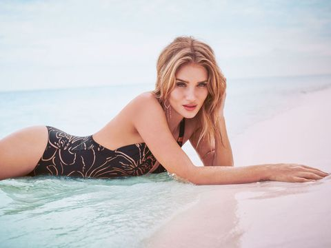 Clothing, Beauty, Model, Blond, Skin, Bikini, Photo shoot, Swimwear, Summer, Leg,