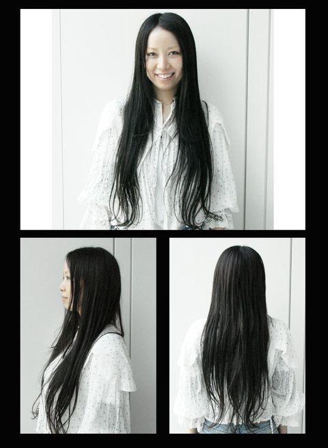 Hair, Hairstyle, Eyebrow, Style, Long hair, Step cutting, Beauty, Black hair, Hair coloring, Layered hair,