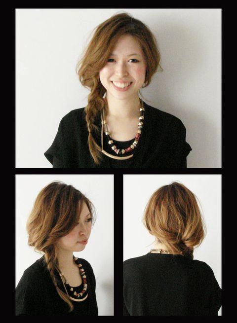 Hairstyle, Chin, Jewellery, Fashion accessory, Style, Jaw, Beauty, Body jewelry, Fashion, Neck,