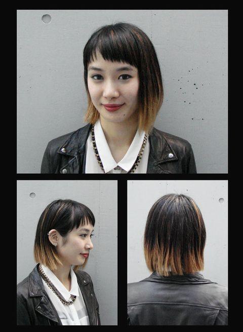 Hair, Head, Lip, Mouth, Eye, Hairstyle, Chin, Forehead, Eyebrow, Step cutting,