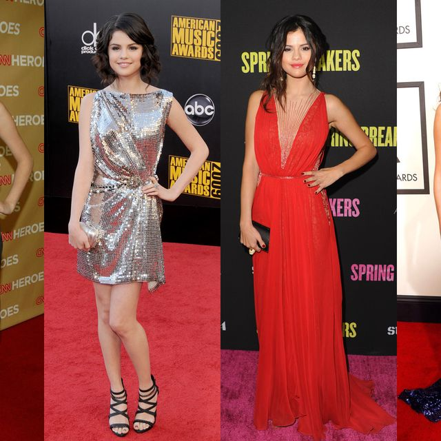 Clothing, Dress, Flooring, Shoulder, Red, Outerwear, Carpet, Formal wear, Style, Waist,