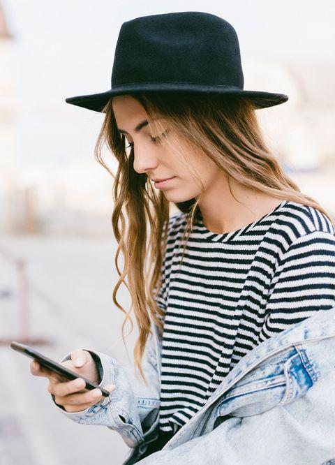 Clothing, White, Street fashion, Hat, Fedora, Beauty, Fashion, Fashion accessory, Sun hat, Headgear,