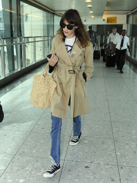 Clothing, Eyewear, Footwear, Trousers, Bag, Textile, Coat, Outerwear, Style, Luggage and bags,