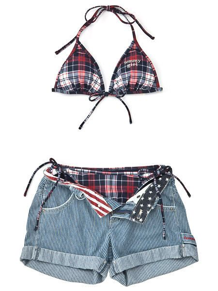 Product, Pattern, Textile, Red, White, Style, Shorts, Bag, Fashion, Plaid,