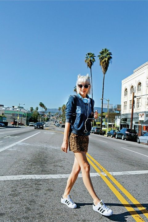 Road, Glasses, Infrastructure, Street, Asphalt, Sunglasses, Human leg, Road surface, Style, Street fashion,