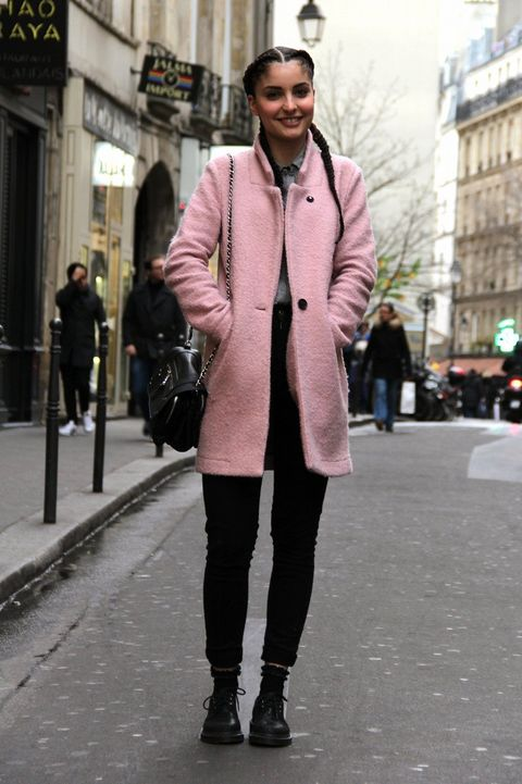 Sleeve, Infrastructure, Road, Street, Standing, Textile, Winter, Outerwear, Coat, Style,