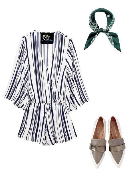 Sleeve, Collar, White, Style, Fashion, Pattern, Tan, Beige, Ribbon, Fashion design,