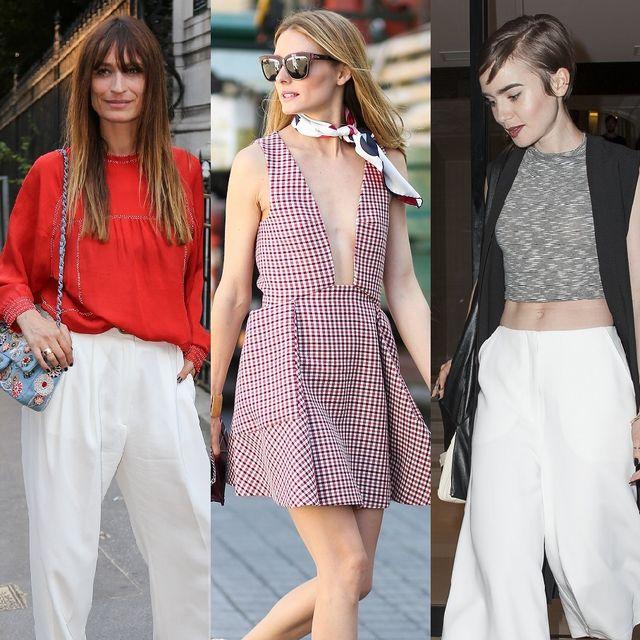 Clothing, Footwear, Leg, Shoulder, Outerwear, White, Bag, Pattern, Style, Fashion accessory,
