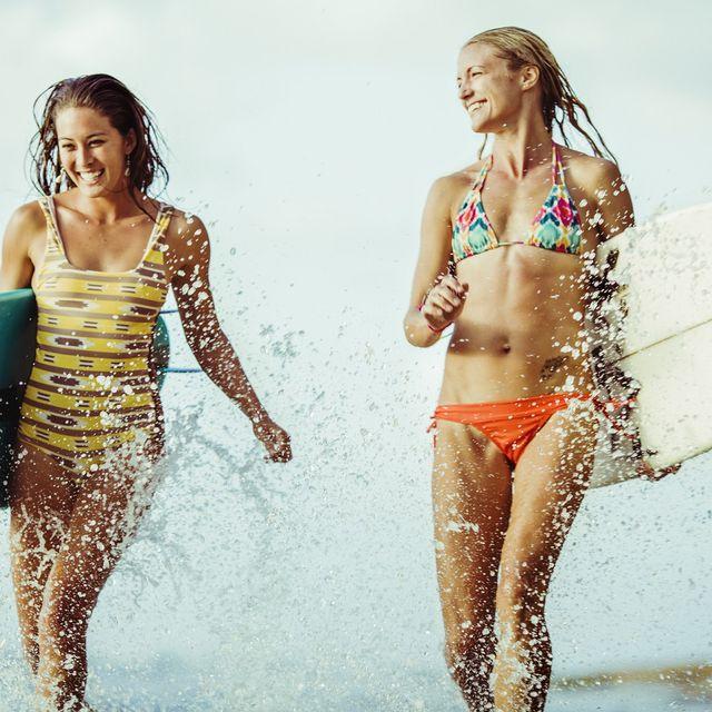 People on beach, Bikini, Fun, Swimwear, Beauty, Summer, Vacation, Photography, Recreation, Leisure,