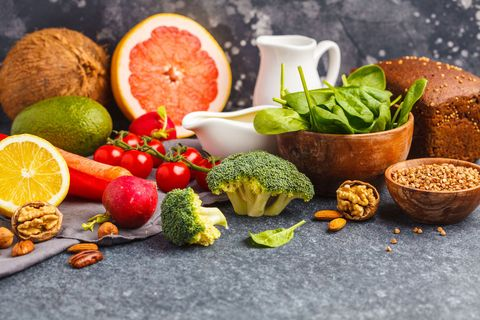Natural foods, Food, Superfood, Whole food, Food group, Vegan nutrition, Ingredient, Vegetarian food, Cuisine, Leaf vegetable,