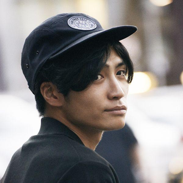 Cap, Sleeve, Chin, Street fashion, Headgear, Neck, Black hair, Cool, Baseball cap, Cricket cap,