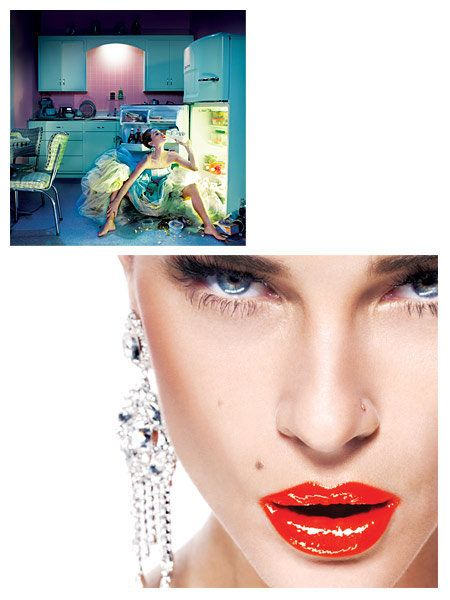 Lip, Skin, Chin, Forehead, Eyebrow, Eyelash, Beauty, Earrings, Fashion accessory, Body jewelry,