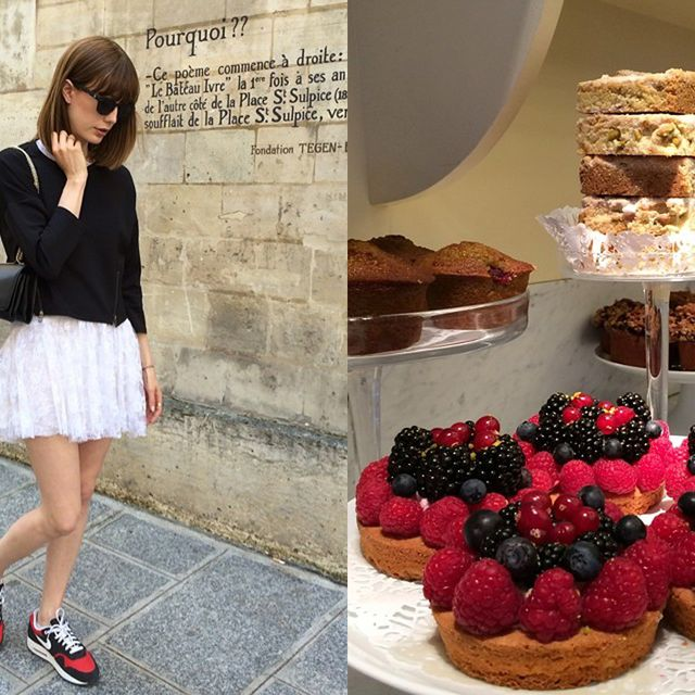 Clothing, Sweetness, Cuisine, Food, Dessert, Baked goods, Outerwear, Cake, Dish, Style,