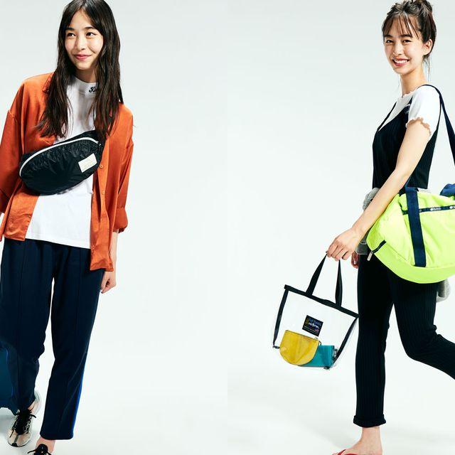 Shoulder, Bag, Clothing, Yellow, Handbag, Joint, Orange, Fashion, Tote bag, Jeans,