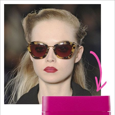 Eyewear, Nose, Vision care, Glasses, Lip, Mouth, Sunglasses, Hairstyle, Earrings, Magenta,