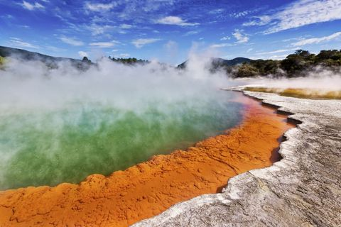 Nature, Natural landscape, Water resources, Sky, Geology, Water, Geological phenomenon, Hot spring, Landscape, Geyser,