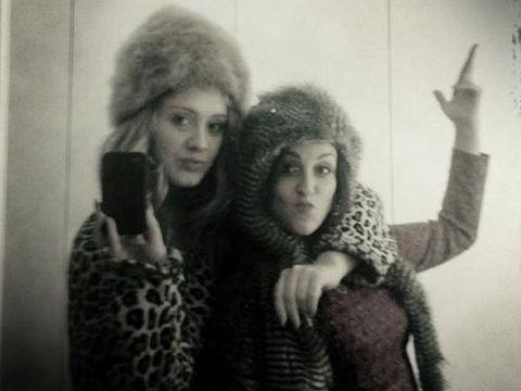 Textile, Photograph, Fur clothing, Winter, Headgear, Fashion, Wool, Fur, Photography, Animal product,