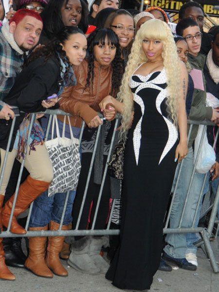 Face, Dress, Fashion, Long hair, Costume, One-piece garment, Waist, Street fashion, Wig, Day dress,
