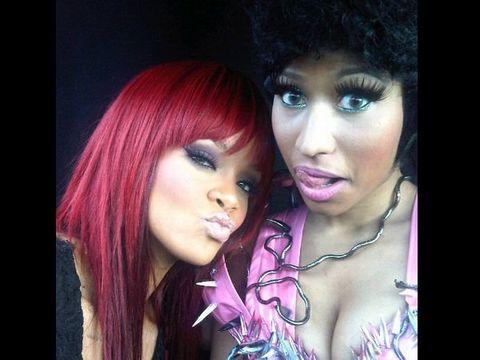 Lip, Hairstyle, Eyelash, Pink, Magenta, Bangs, Red hair, Purple, Beauty, Fashion,